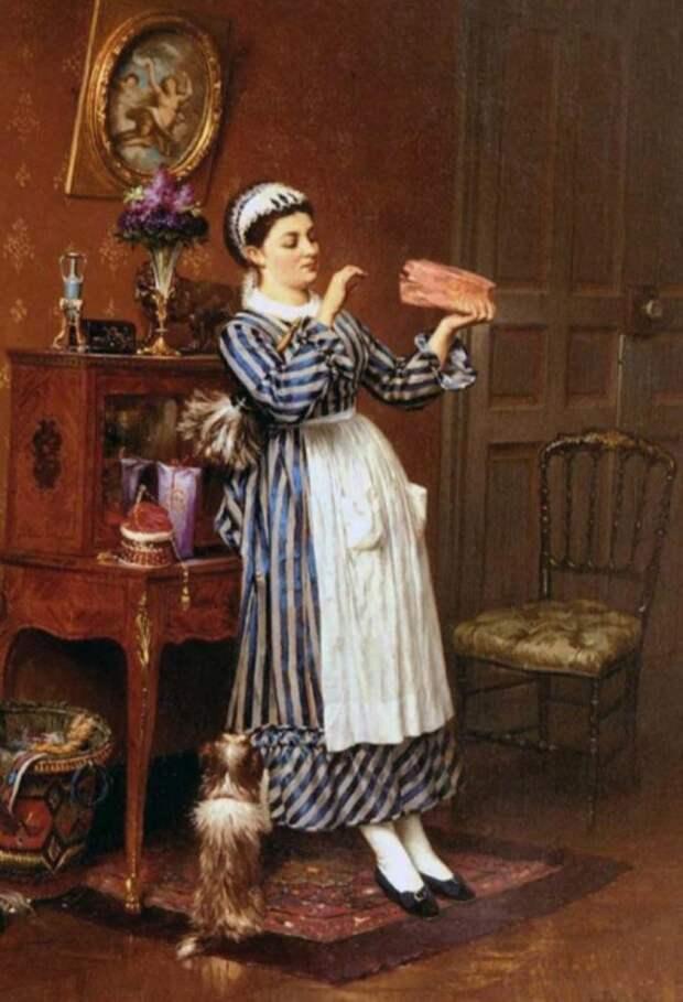 Пьер Отен, «Сладости хозяйки», 1872 год