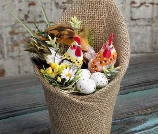 Идеи чудесного пасхального декора