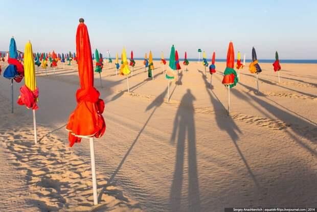Довиль: пляж для кинобогемы