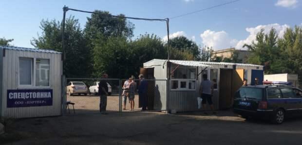 В Крыму закрыли стоянки