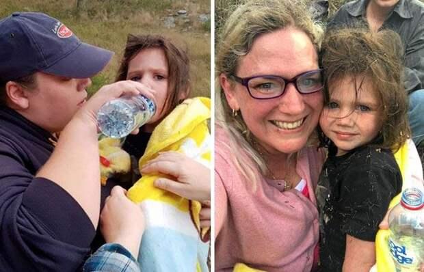 Старый глухой и полуслепой пес спас 3-летнюю девочку в дикой природе