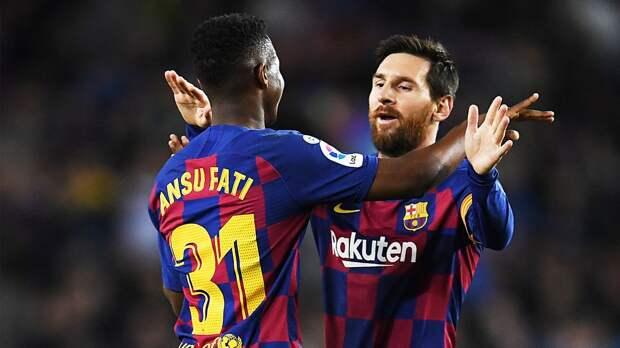 «Барселона» потеряла форварда Фати на четыре месяца