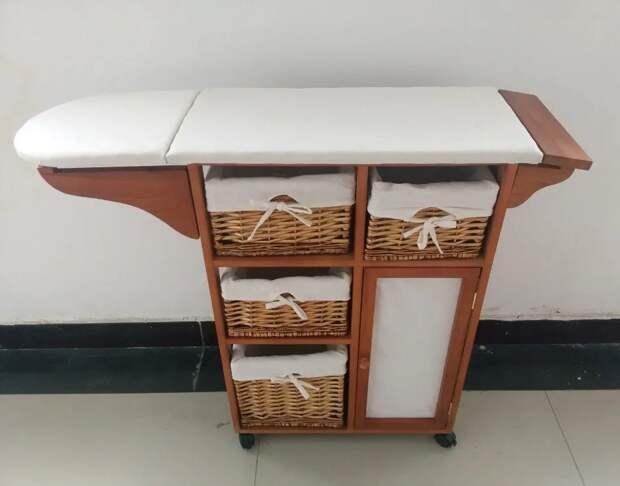 Идеи для хранения гладильной доски. Или 10 мест, где можно спрятать гладильную доску, фото № 25