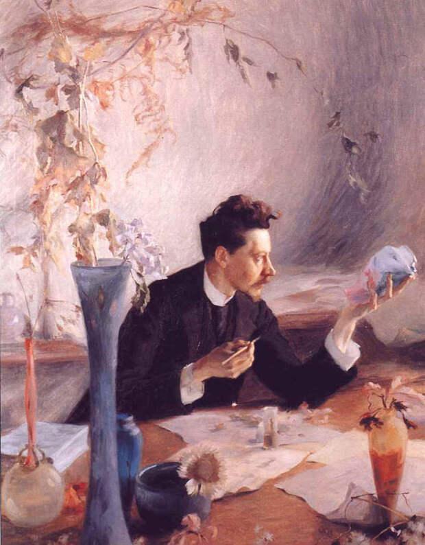 Эмиль Галле – художник, соединивший стекло и ботанику