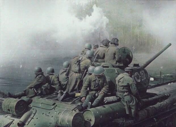 Ожившие фотографии (8) вторая мировая война, восстановление фотографии, длиннопост