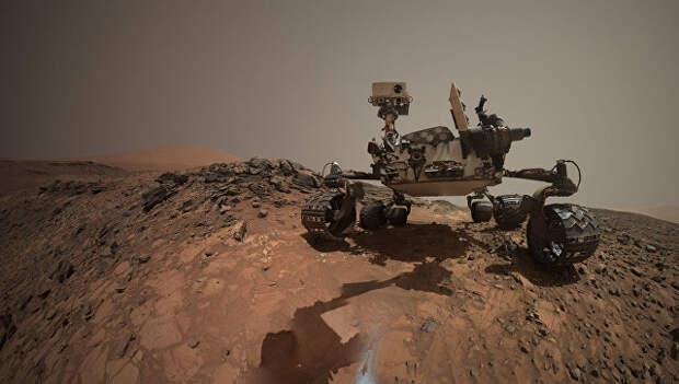 Очередное сэлфи марсохода Curiosity