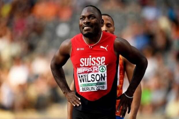 Швейцарец Уилсон установил рекорд в беге на 100 метров. Накануне Олимпиады это произвело фурор