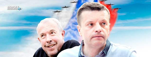 Политолог объяснил, почему Макаревич и Парфенов прибегут обратно в Россию
