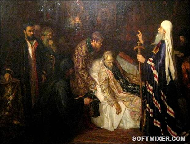 800px-Ivan_IV_becoming_monk_before_death_by_P._Geller