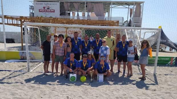 Сакский район принял участие в соревнаваниях по пляжному футболу в рамках фестиваля экстремальных видов спорта «Extreme Крым»