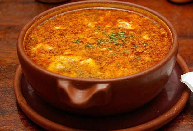 Чесночный суп из Испании