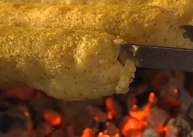 идеальный люля-кебаб из картофеля