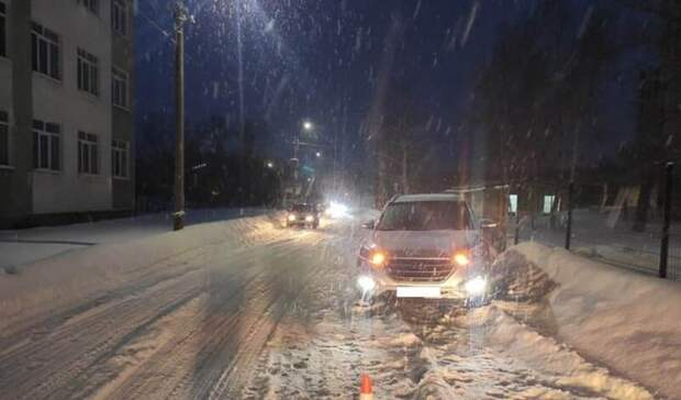 Hyundai Tucson сбил вКувандыке 72-летнюю женщину
