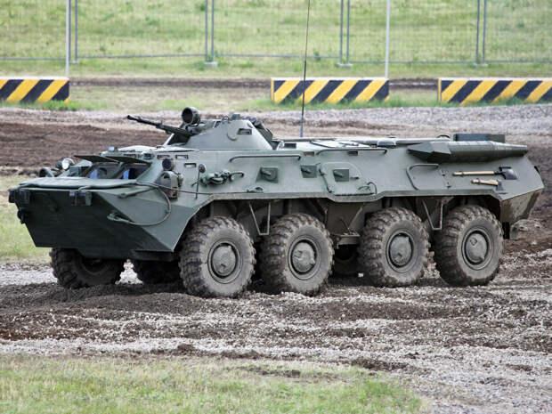 БТР-80 – лучший бронетранспортёр СССР, находящийся в строю до сих пор