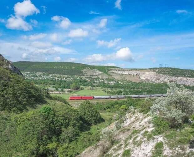 Из Вологды в Симферополь: маршрут и расписание поезда