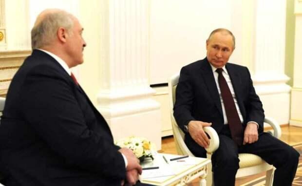 Путин и Лукашенко полностью согласовали интеграционные программы Союзного государства