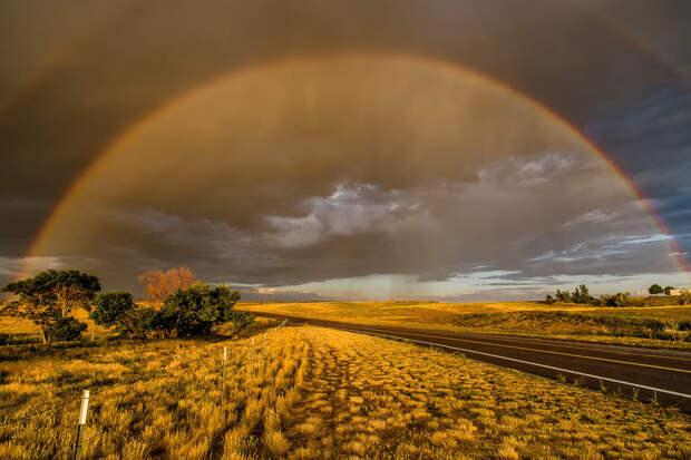фотосъемка радуги