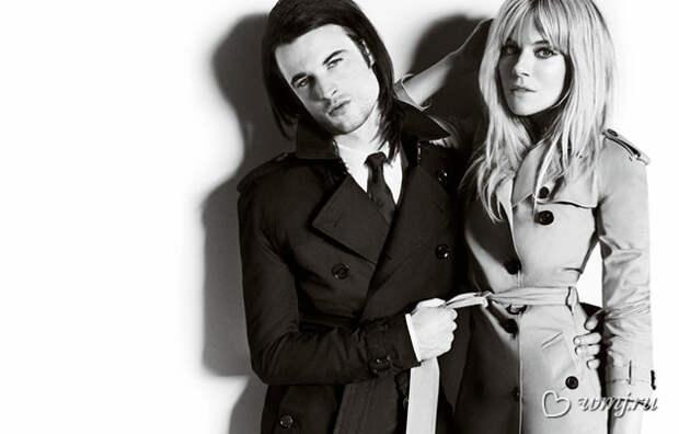 Сиенна Миллер и Том Старридж в рекламной кампании Burberry, осень-зима 2013-2014