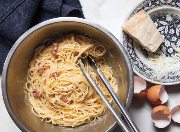 Правильная карбонара без сливок: рецепт итальянского шеф-повара