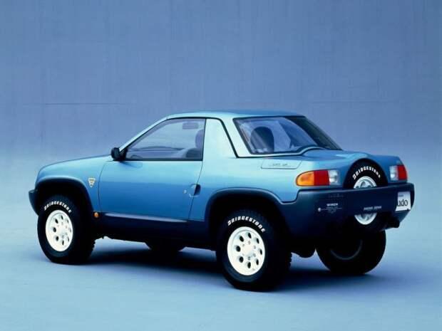 Русский след в дизайне японского кроссовера Suzuki X-90 suzuki, авто, автодизайн, автомобили, внедорожник, газ, кроссовер