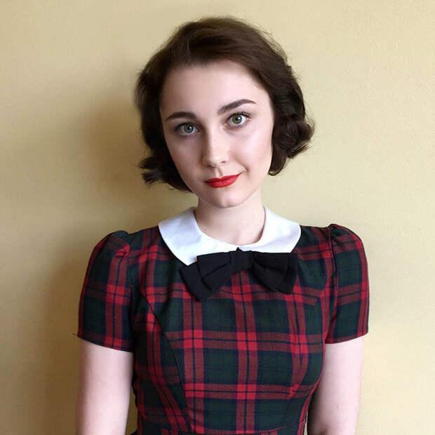 1940-е девушка, перевоплощение