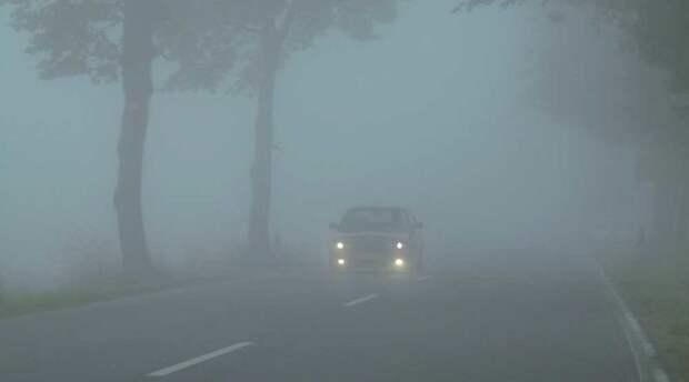 8 советов, как правильно ездить в туман