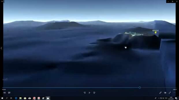 Вот тот же островок на Фиджи - с другого ракурса.
