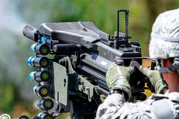 Гранатомет со скорострельностью пулемета: военные показали силу Mk19