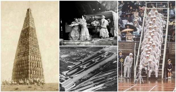20невероятных исторических фото, снеменее невероятными пояснениями