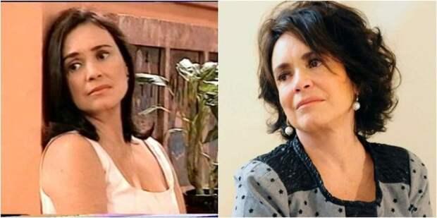 В бразильском мелодраматическом сериале «Во имя любви» актриса исполнила одну из главных ролей – Элены Виану и работала вместе с дочерью Габриэллой.