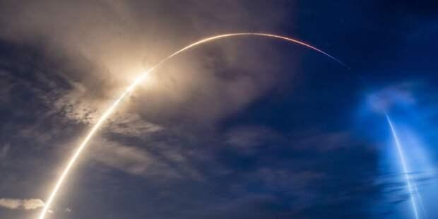 SpaceX запустила ракету-носитель