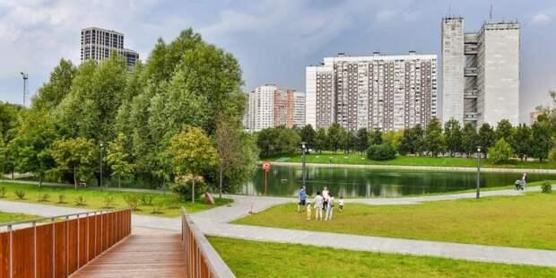 Собянин отметил возросшие темпы работ по благоустройству городских территорий. Фото: Ю. Иванко mos.ru