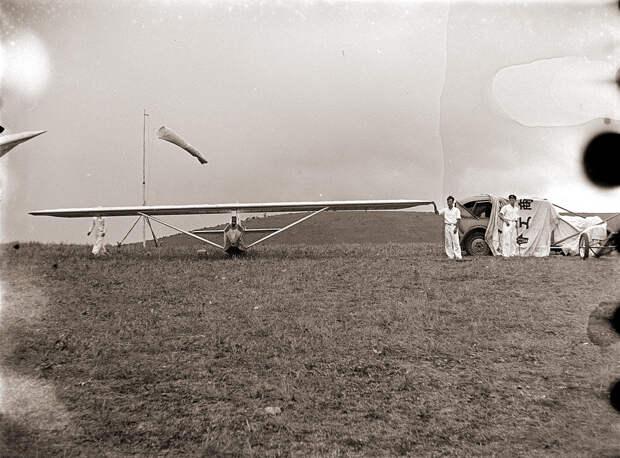 Glider & Windsock, 1930s Japan