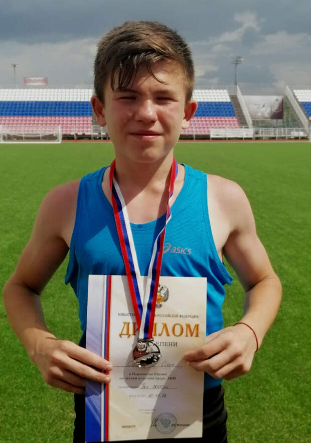 Тамбовский спортсмен стал серебряным призёром первенства России по лёгкой атлетике