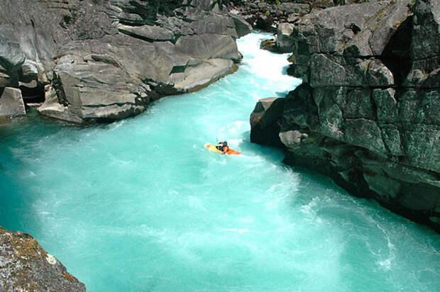 Река Футалеуфу, фотография