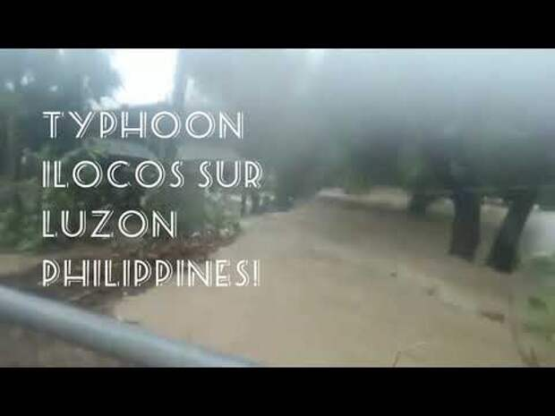 Тропический шторм «Компас» пронесся над Филиппинами и Гонконгом