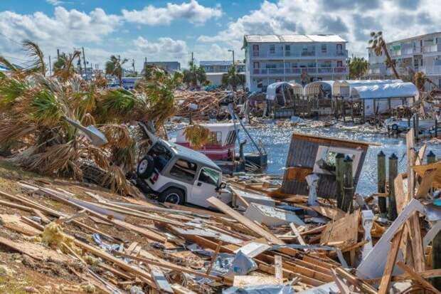 Последствия урагана «Майкл» в 2018 году во Флориде, США