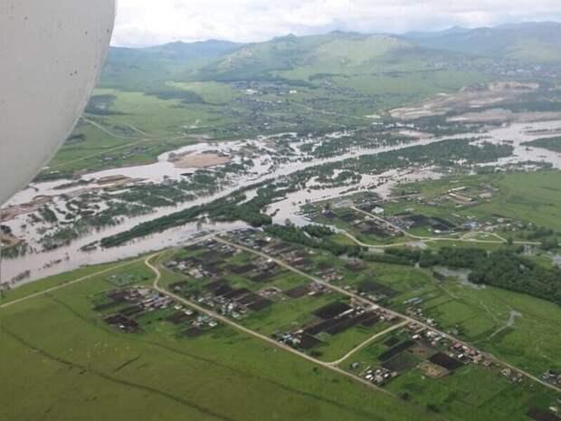 Финансовую помощь обещают жителям Забайкалья после паводков