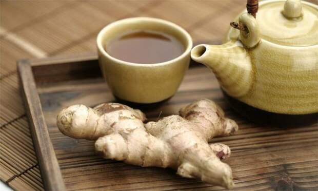 Имбирный чай для идеальной фигуры