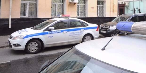Мужчину на Патриарших задержали из-за невыполнения законных требований полиции/ Фото mos.ru