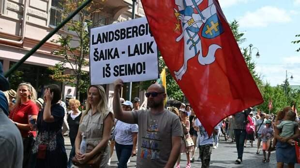 Революция по-литовски: мигранты, ковид и агенты Путина