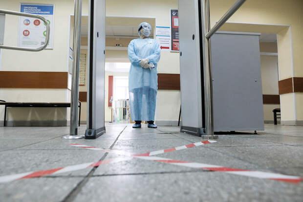 В России за сутки выявили 9167 заражённых COVID-19