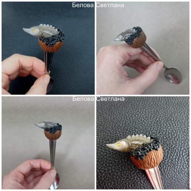 Декоративные рыбки из полимерной глины от Светланы