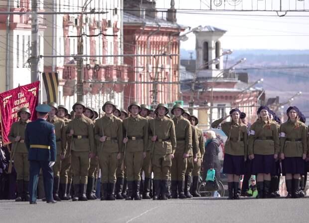 Репетиции Парада Победы начались в Ижевске