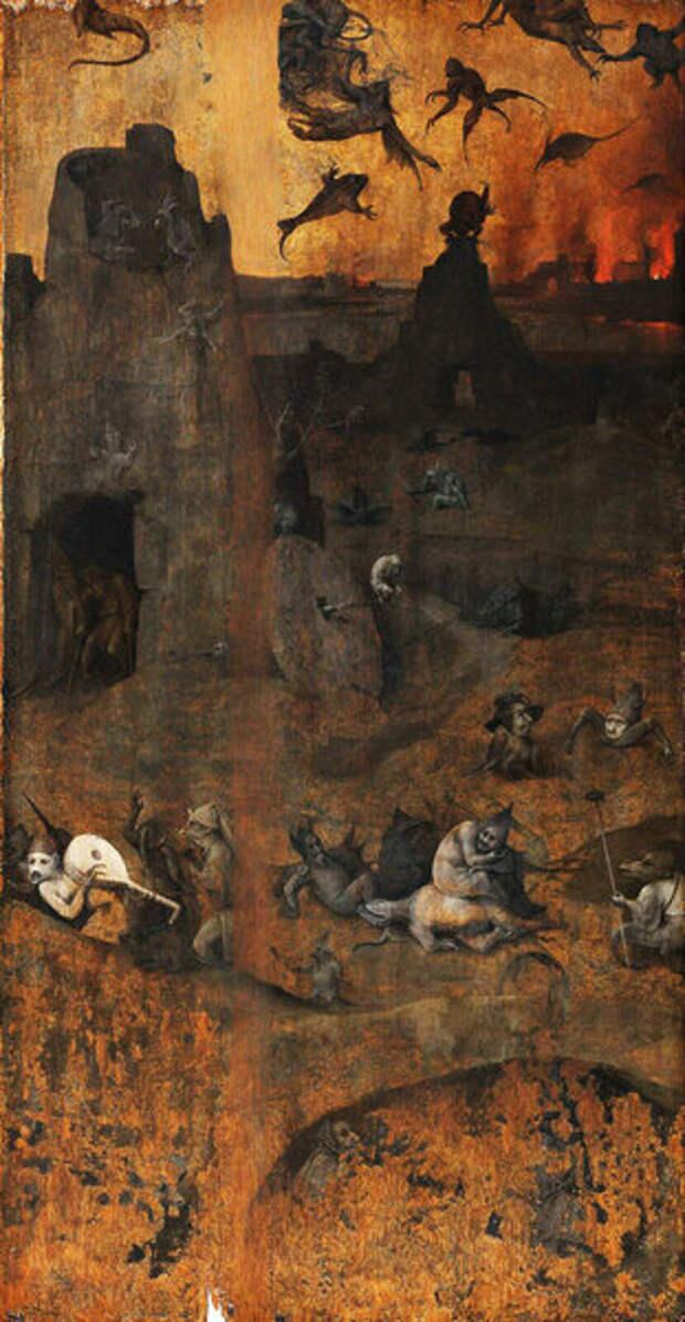Правая створка - Низвержение восставших ангелов