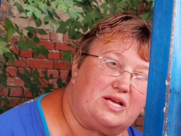 Бывшая одноклассница. Фото автора.
