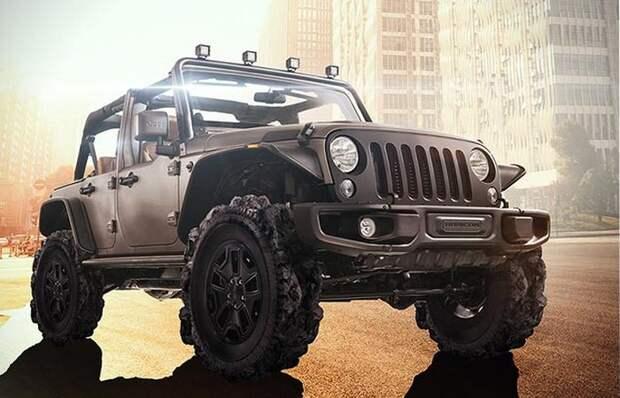 Jeep Adventure Tires.