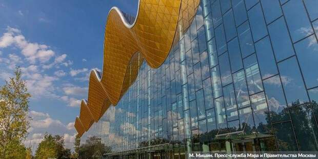 Собянин: Москва строит по-настоящему современные и опережающие время объекты. Фото: mos.ru