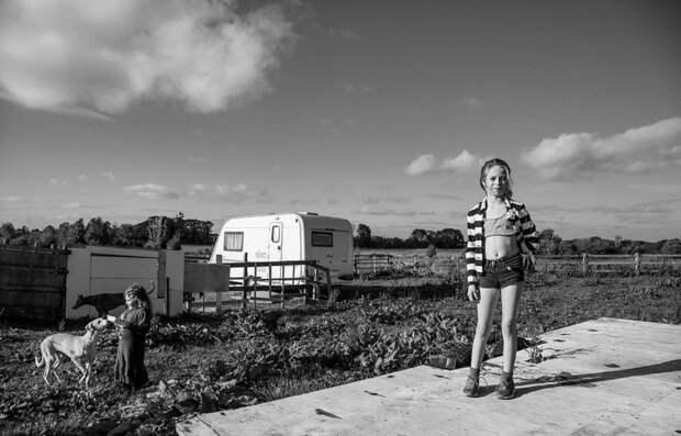 Детство наколесах: юные ирландские цыгане напотрясающих фотографиях Джейми Джонсона