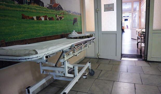 В туалете Орской городской больницы №2 нашли мёртвого пациента